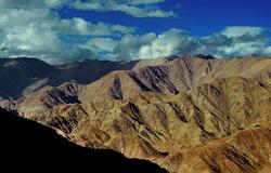 The Ladakhian terrain