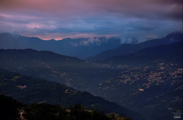 The Gangtok Sunset