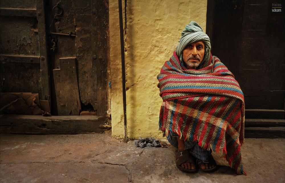 Winter times at the streets of Varanasi