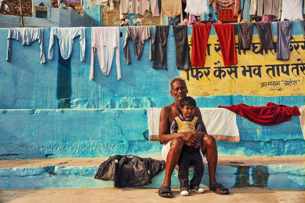 Dhobi and his Grandson