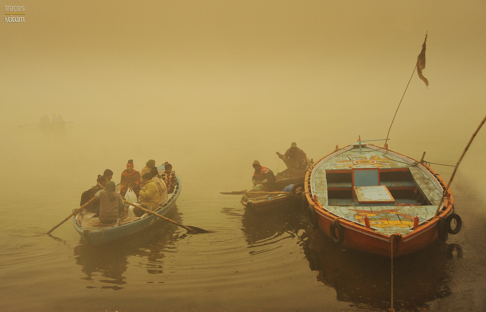 Across Ganga and the Kashi smog