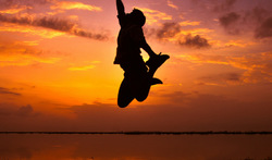 Reach for the skies... and never never give it up!