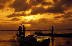"The ""dawn time"" fishermen"
