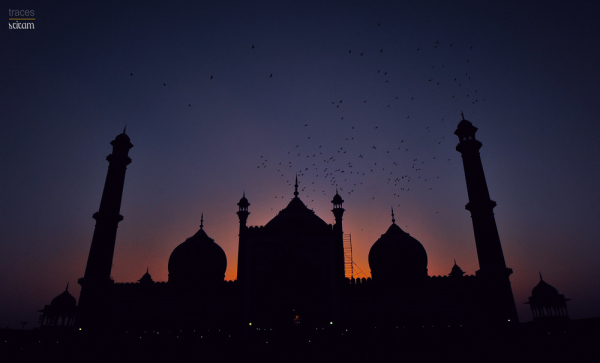 Thousand pigeons, prayers and the sunset