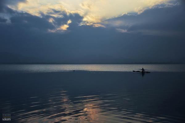 Serenity at twilight