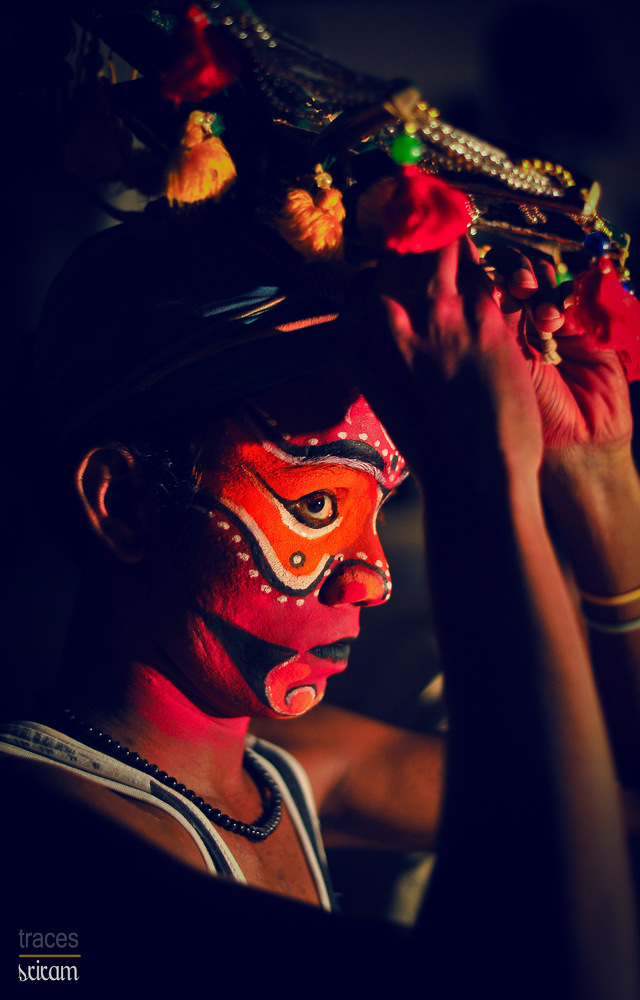 Making himself as Duryodhana