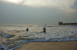 Shore side fishing