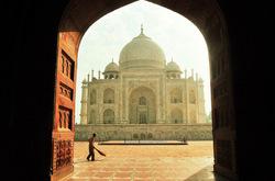 Morning chores at Taj
