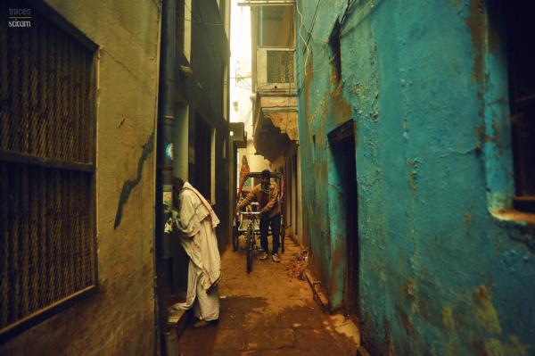 Way across the narrow streets
