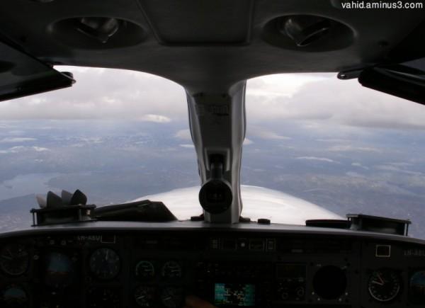 Pilot cabin