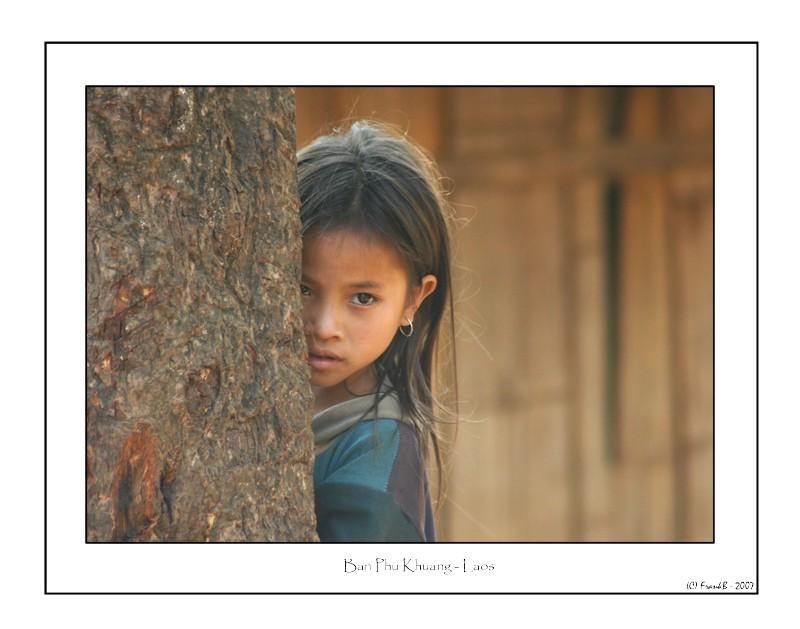 Petite fille au Laos - 2006