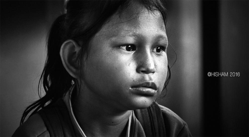 iban sarawak malaysia potrait