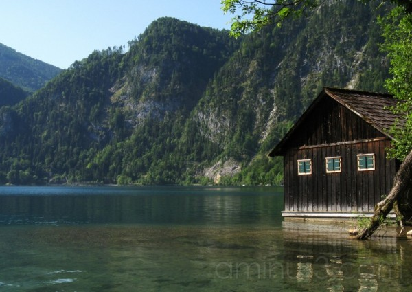 boat house / attersee