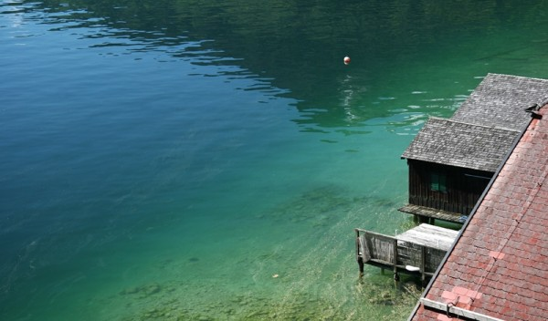 boat house / wolfgangsee / upper austria