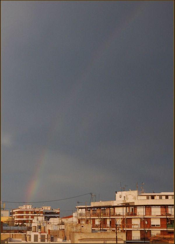 Rainbow Spanning the Sky