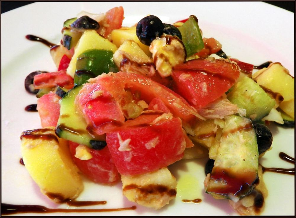 Ensalada Campera - Spanish Summer Salad