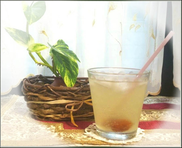 Refreshing-Summer-Drink - Kumquat Syrup & Soda