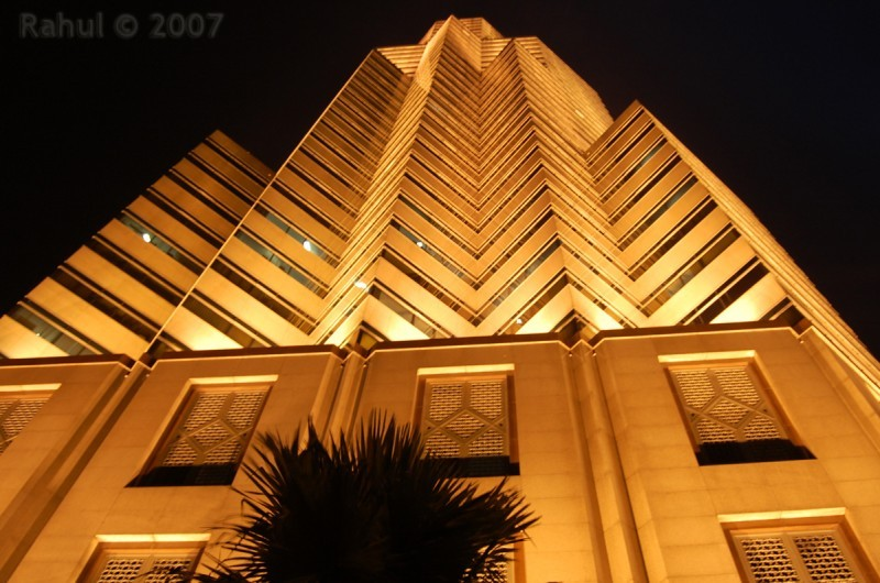 Public Bank At Night