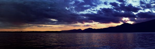 Sunset on the Lago di Garda