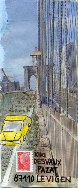 New York City sur Hudson...