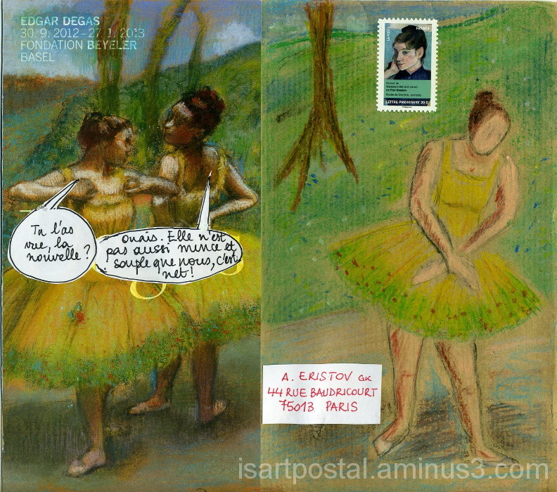Danseuses du cours Degas