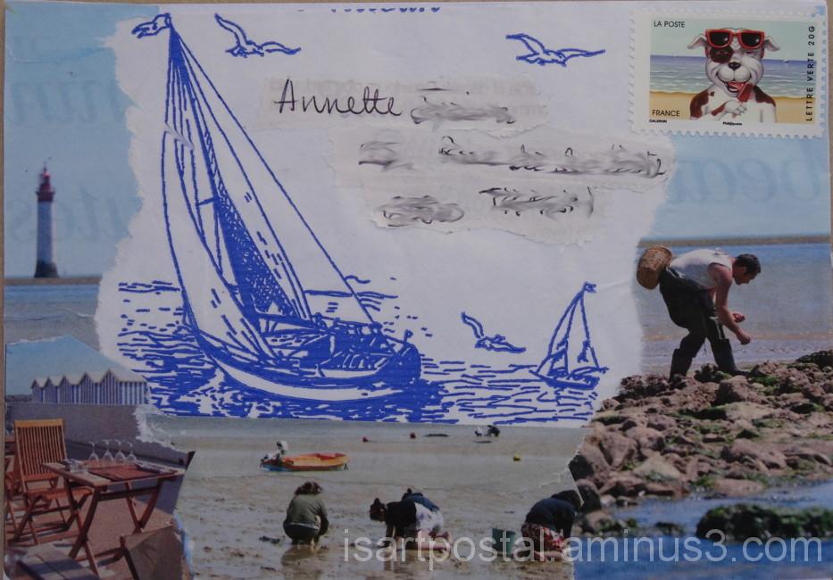 Pêcheurs à marée basse...