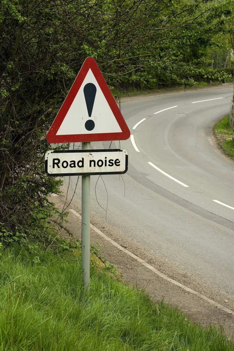 BEWARE! ROAD NOISE