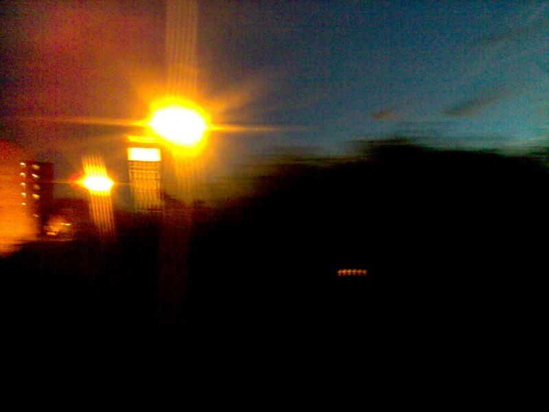 OUT OF THE WINDOW OF THE 7.00PM TO PENZANCE
