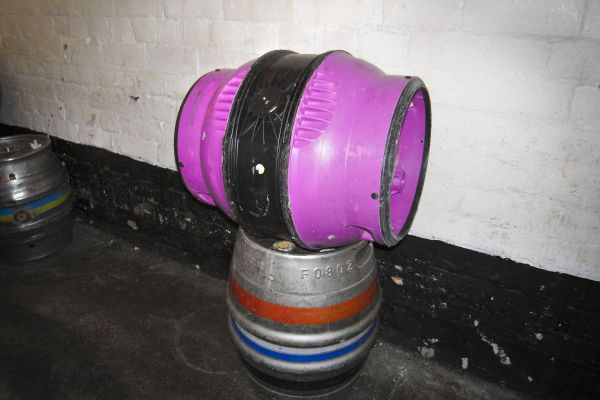 PINK BEER BARREL