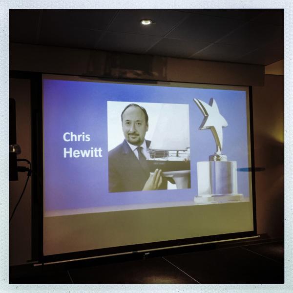 CHRIS HEWITT
