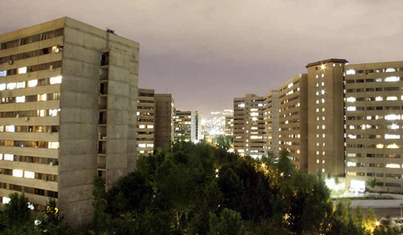 Ekbatan landscape at night
