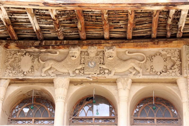 Habibi old house in the Khansar city