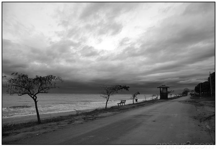 road by the sea