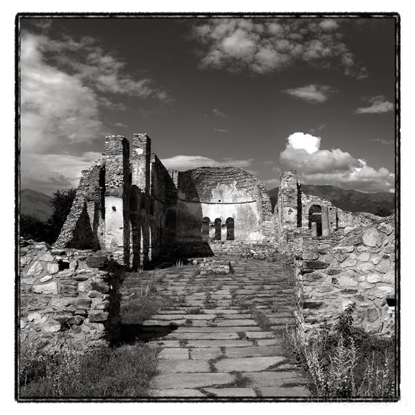 ruins church achillios
