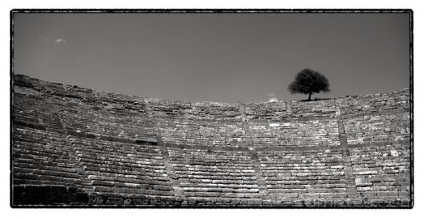 ancient theater dodoni epirus