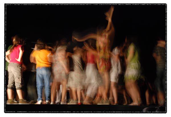 dance moving blur