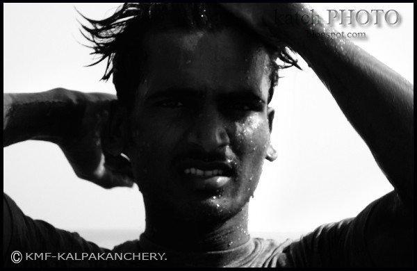 bath,black and white,people,rajesh