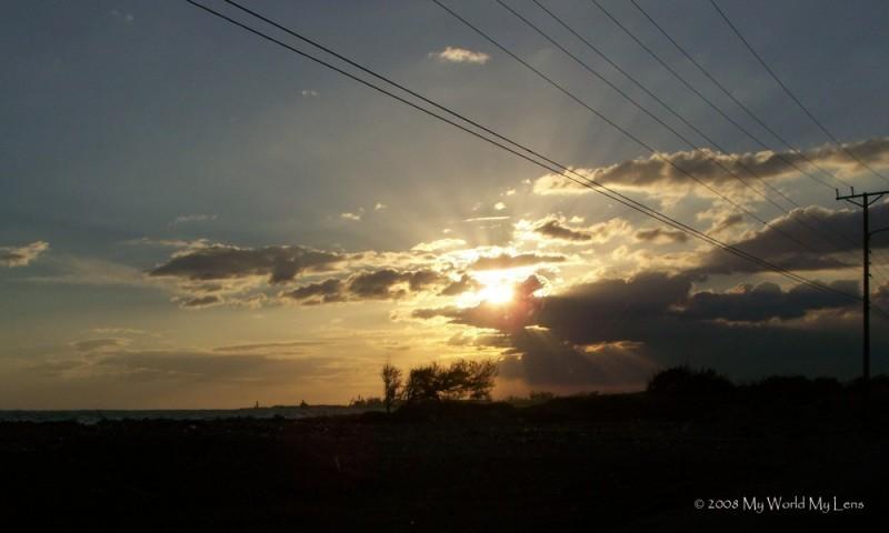 Palasadoes Sunset
