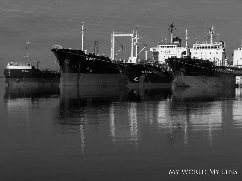 Ships in Still Waters
