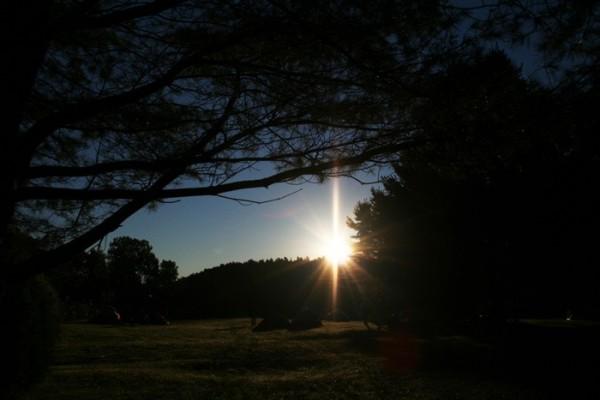 morning light at the ottawa river
