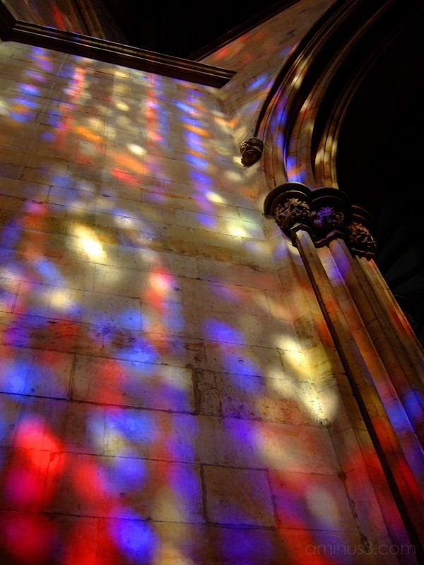 Stained Glass Reflection
