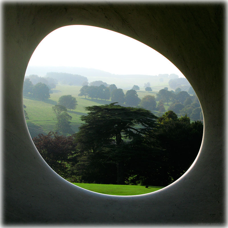 Stone Window View