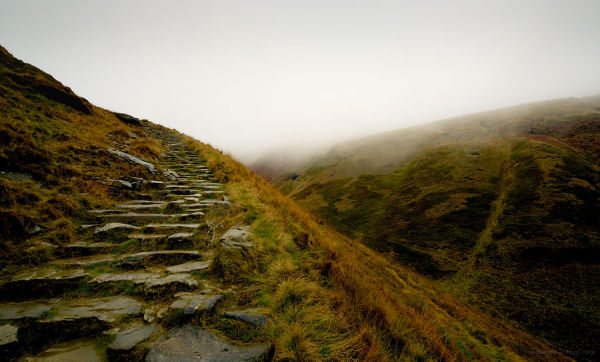 Jacob's Ladder in the rain