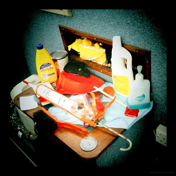 garish colours plastic things