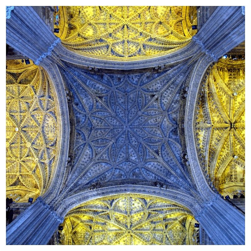 seville cathedral ceiling vaults