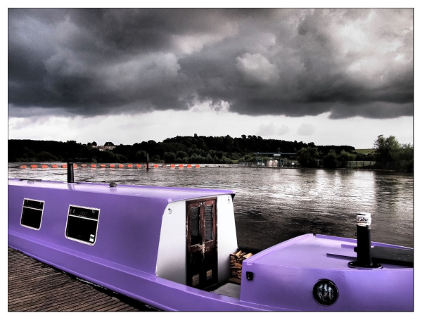 purple boat river trent beeston