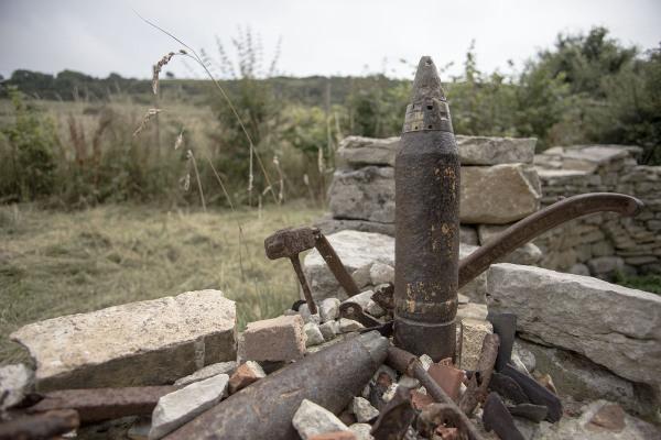 lack ammunition rusty bullet unfired