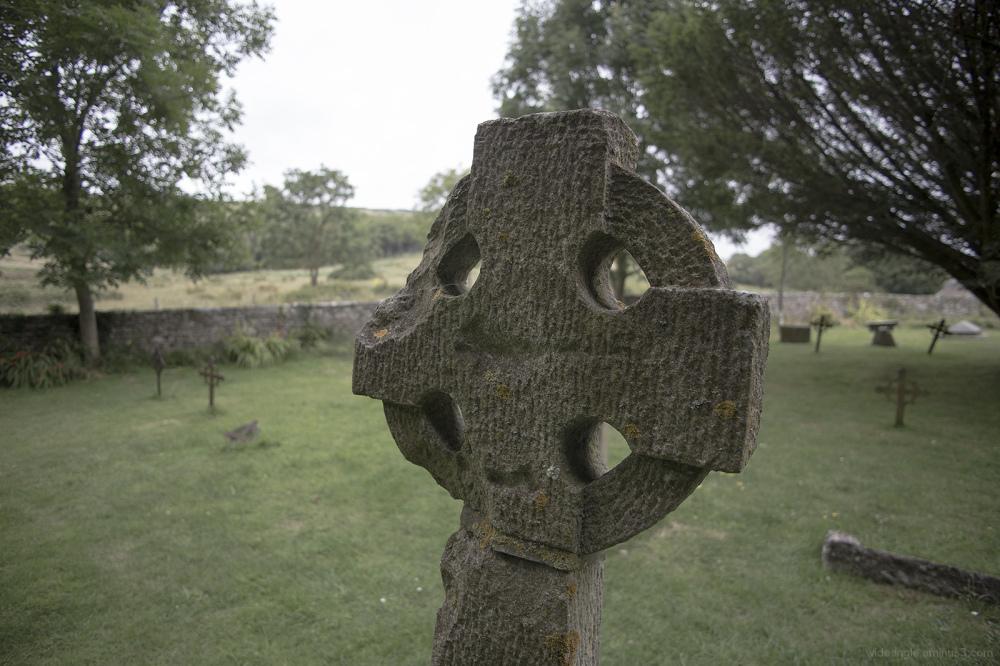 gravestone dorset Tyneham village