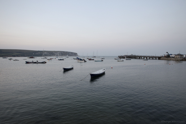 swanage harbour pier dorset