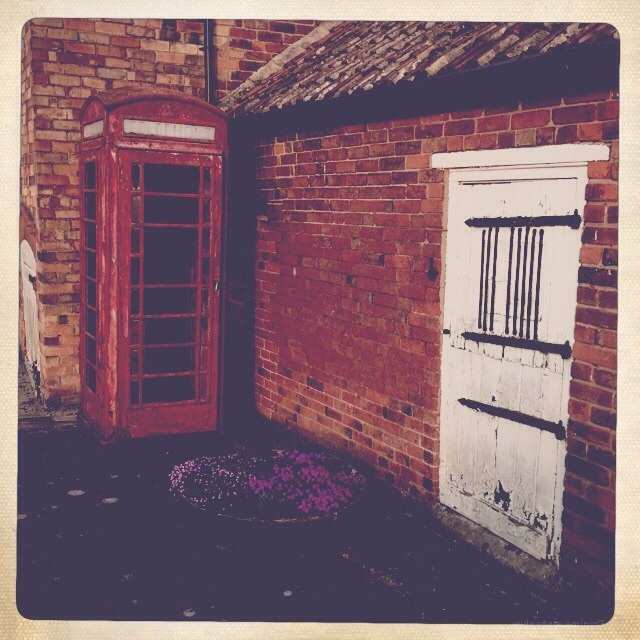 Old phone box in shardlow